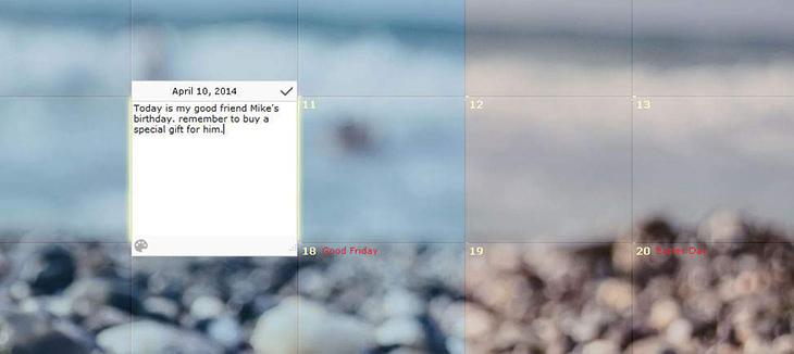 DesktopCalendar (hay CalendarDC)