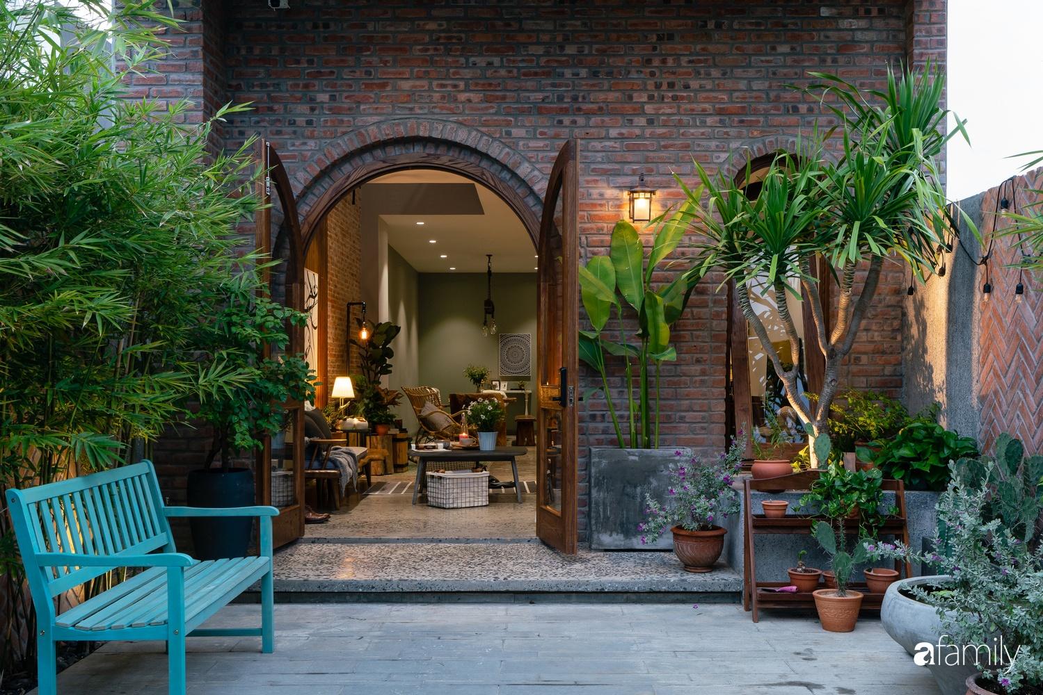 Ngôi nhà có kiến trúc độc đáo giàu tính nghệ thuật đẹp yên bình