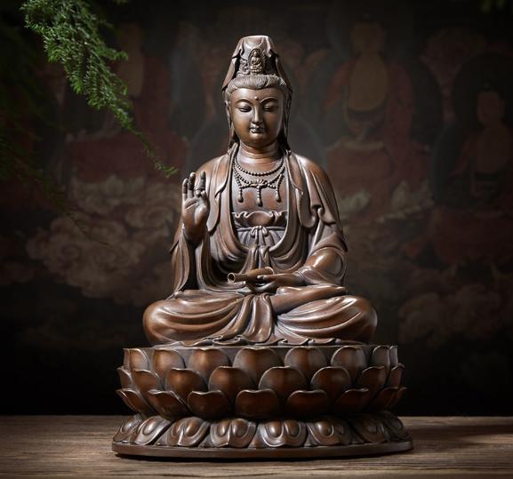 Tượng đồng Quán Âm Bồ Tát - Tượng Phật