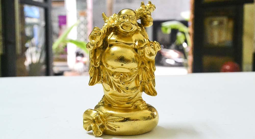 Tượng Phật Di Lạc Mạ Vàng 24k | Dịch vụ mạ vàng 18k, mạ vàng 24k tại Hà Nội giá rẻ
