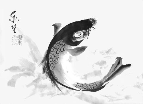 Bật mí cách treo tranh cá chép hút Tài - Lộc - May mắn đầ | 9houz