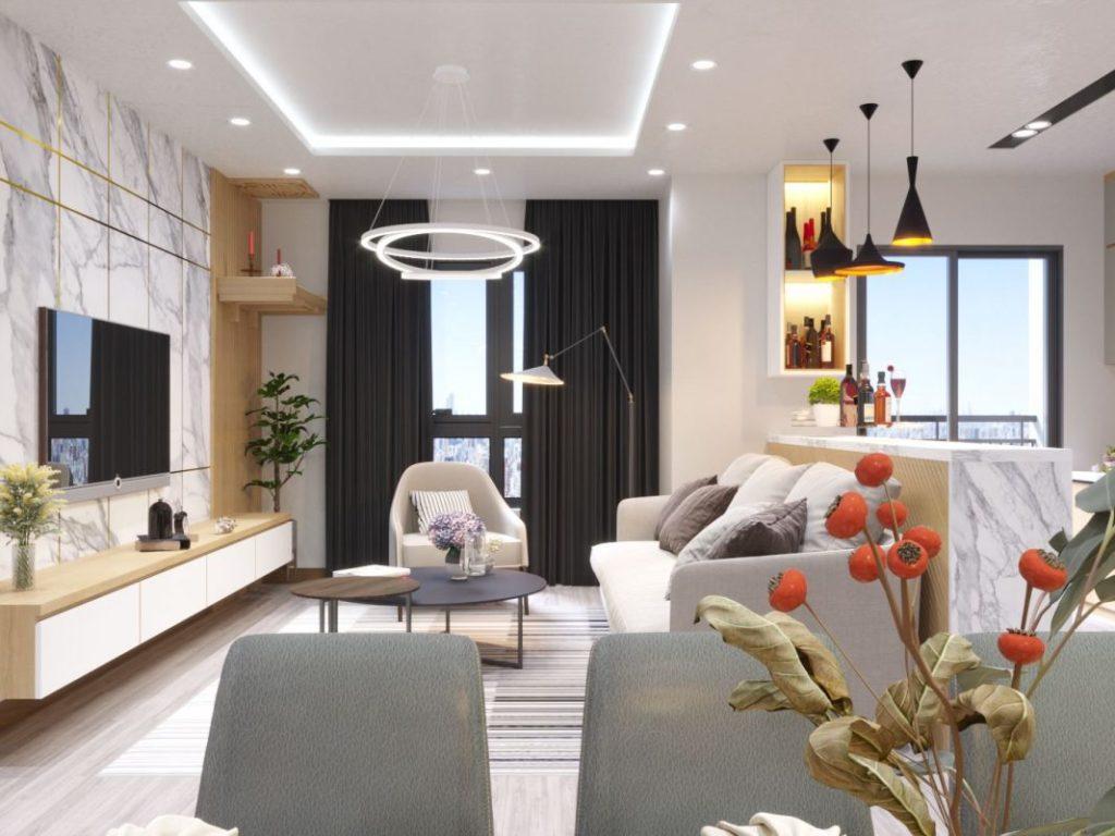 Nguyên tắc thiết kế nội thất để căn hộ chung cư đẹp và đẳng cấp hơn