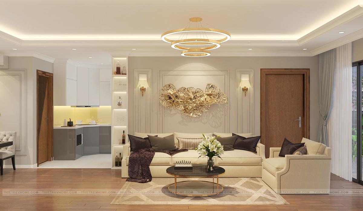 Nguyên tắc trong thiết kế nội thất chung cư hiện đại V-Home