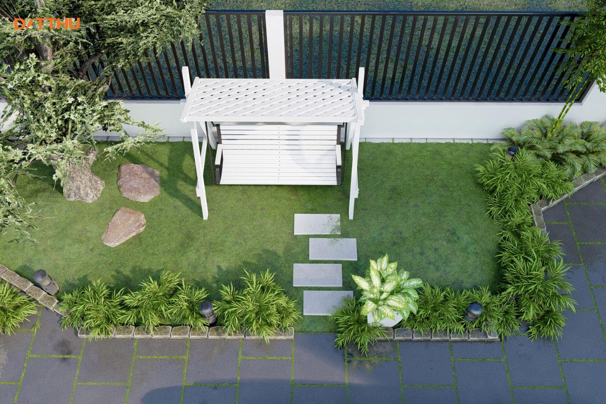 3 Thiết Kế Sân Vườn Đẹp Đơn Giản Cho Nhà Phố, Biệt Thự | Đất Thủ