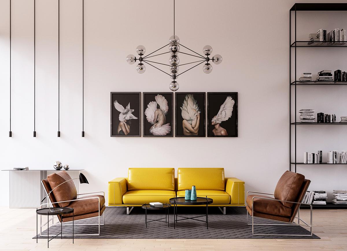 Quy tắc thiết kế nội thất hợp lý