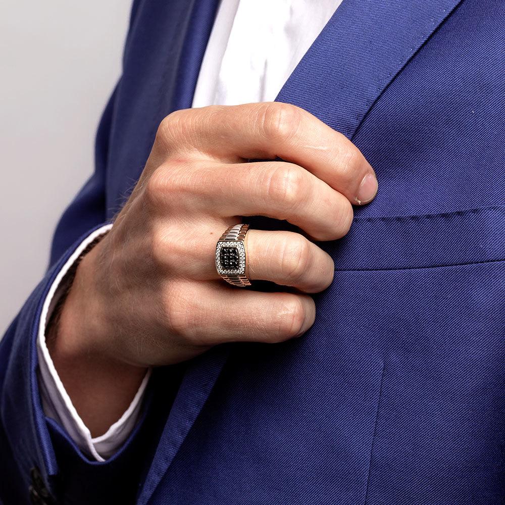 Đeo nhẫn bạc nam phong thủy có ý nghĩa gì cho nam giới - Trang sức bạc  Jemmia
